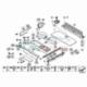 Genuine BMW Handle, floor carpet-luggage comp (51479120283)