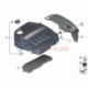 Genuine BMW Acoustic cover rear (11148570012)