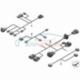 Genuine BMW Cable set, EPS control (61129243625)