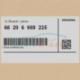 Genuine BMW Ultrasonic-sensor (66206989225)