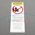 "Genuine BMW Label ""Side airbag"" (72128254277)"