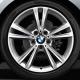 Genuine BMW RDCi Wheel/Tyre set Summer light alloy (36112287862)