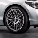 Genuine BMW RDCi Wheel/Tyre set Summer Ferricgrey (36112287866)
