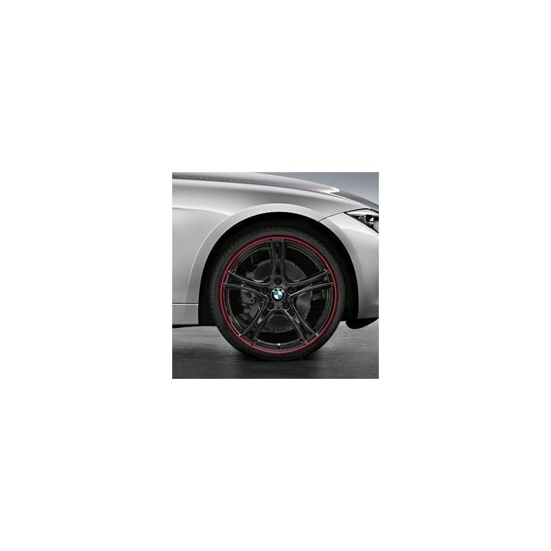 Genuine BMW RDCi Wheel/Tyre set Summer black (36112287869)