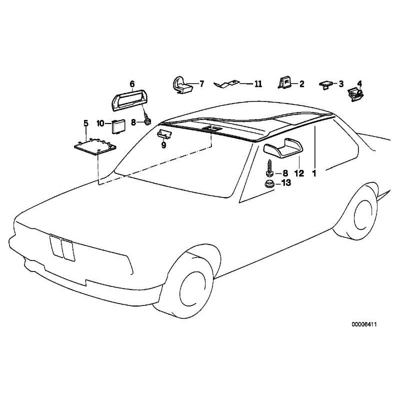 Genuine BMW Handle (51168177642)