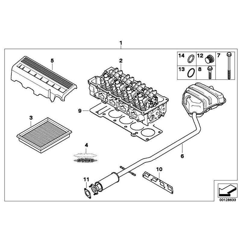 Genuine Mini Cover, injection tube (13530301797)