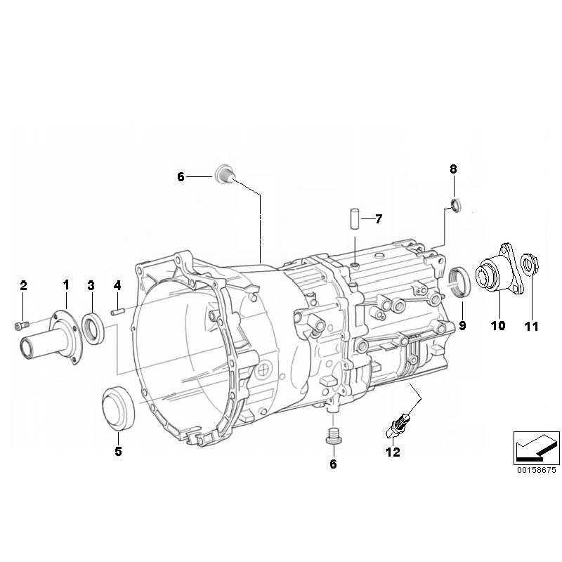 Genuine BMW Output flange (23217566207)