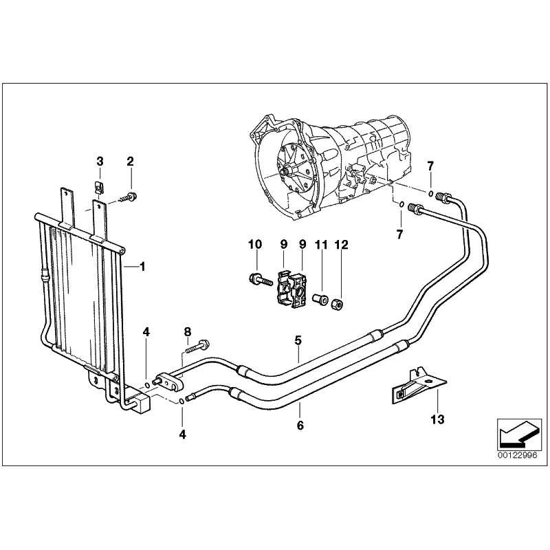 Genuine BMW OIL COOLER-PLUG TYPE CONNECTION (17201728770)