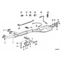 Genuine BMW Exchange exhaust pipe catalyst (18301728038)