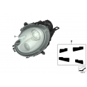 Genuine Mini Bi-xenon headlight, left (63127269981)