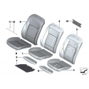Genuine BMW Cover, sports seat, fabric-Alcantara (52107844422)