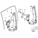 Genuine BMW Window lifter with motor, rear right (51358159836)